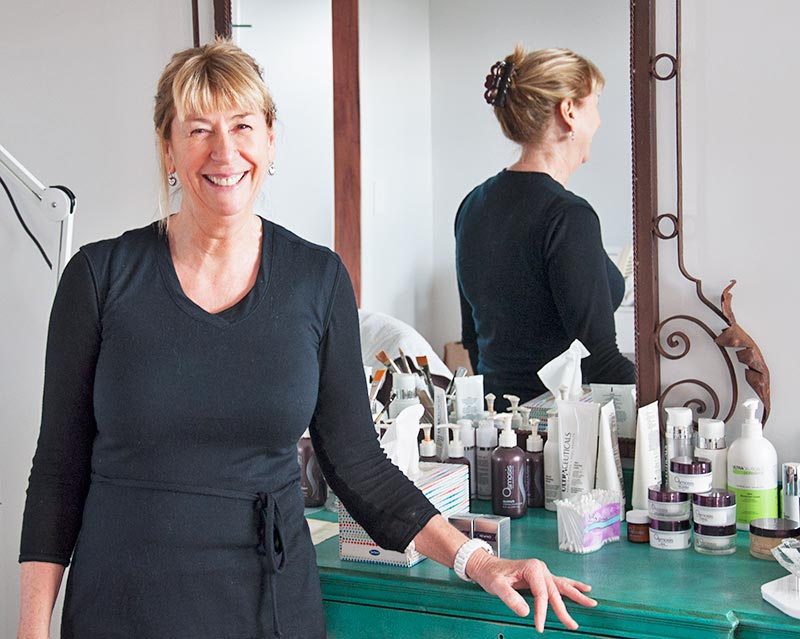 tracy spruit peaches beauty therapist kerikeri